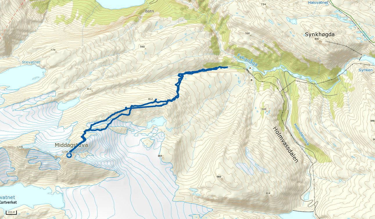 Middagstuva 1236 moh