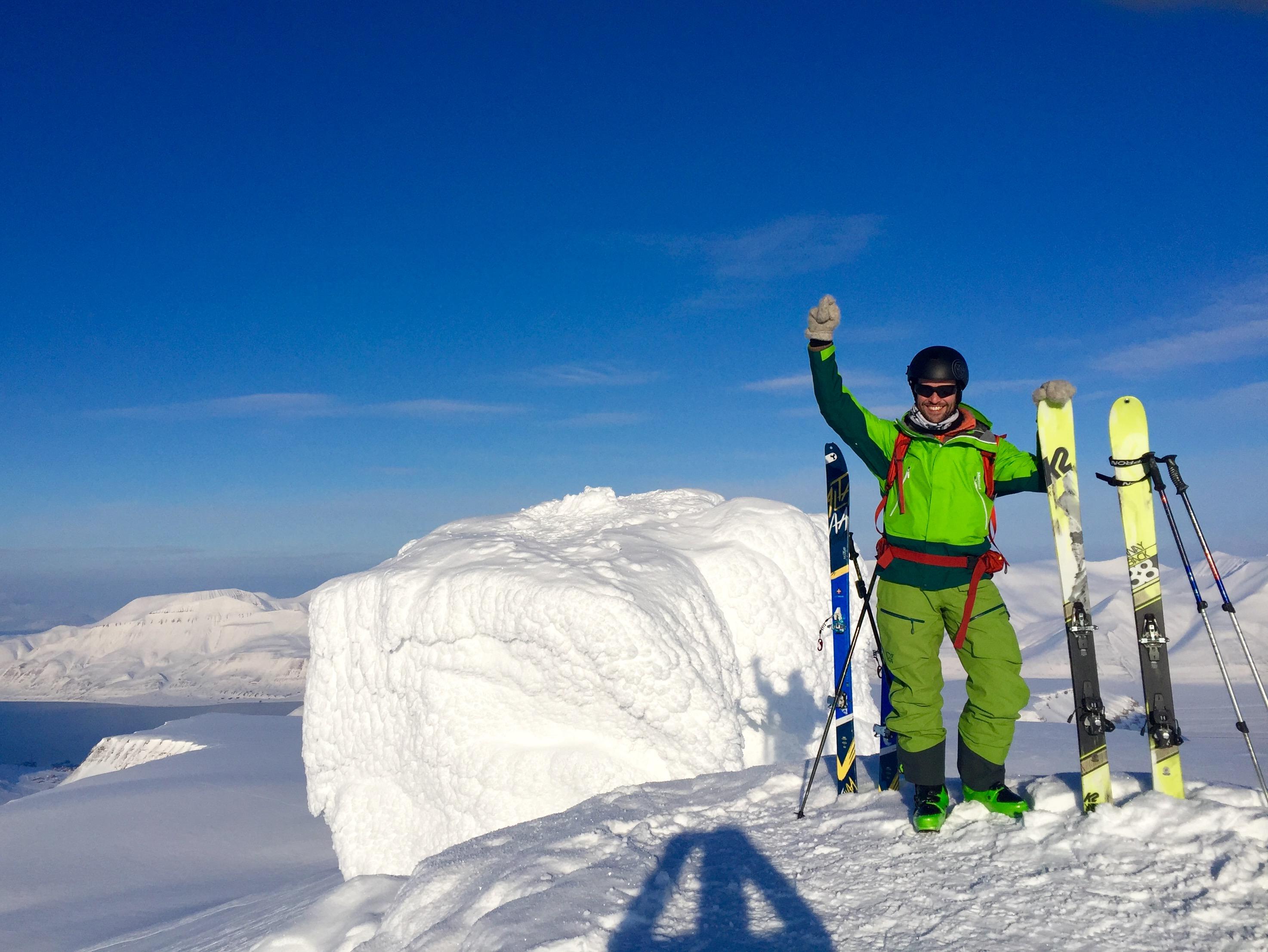 klargjøring av nye ski