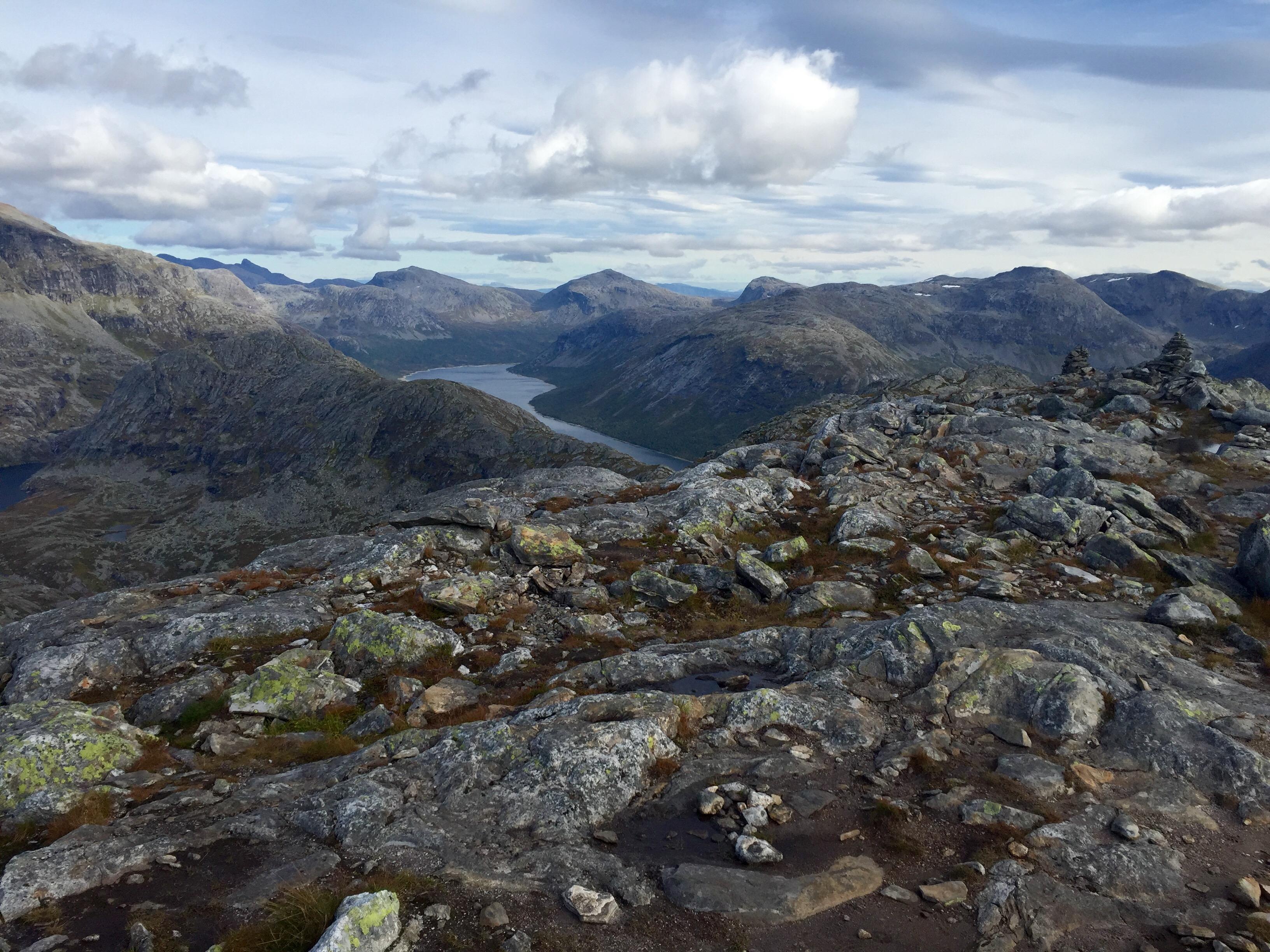 fine fjellturer i norge