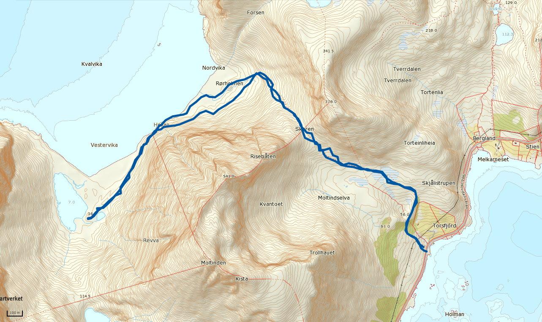 kvalvika lofoten kart Kvalvika – Norge er ikke skapt for å sitte på ræva kvalvika lofoten kart