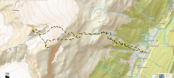 Leiråtinden 1470 moh