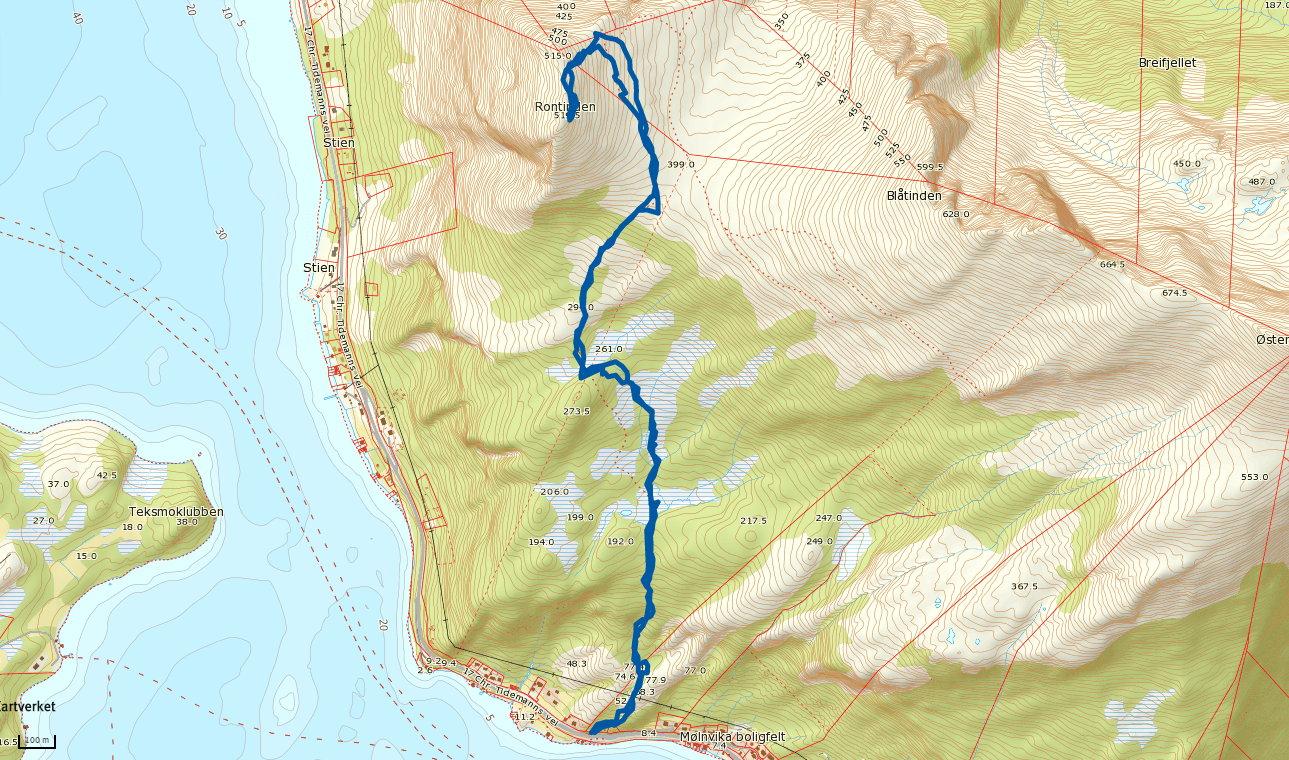 Rontinden 519 moh